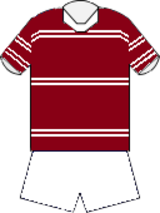 1974 NSWRFL season - Image: Manly home jersey 1972