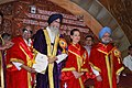 Manmohan Singh, the Governor of Tamil Nadu & the Chancellor of the University of Madras, Shri. Surjit Singh Barnala, the Chief Minister Tamil Nadu Dr. M. Karunanidhi and the Chairperson, UPA.jpg