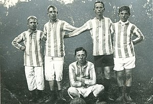 Mannschaftsfoto SC Germania Reusrath 1913