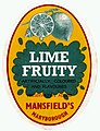 Mansfield's Lime Fruity cordial label (6814799812).jpg