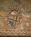 Mantellina con stemma alamanni-franceschi, lampasso broccato, primo quarto del xviii sec..JPG