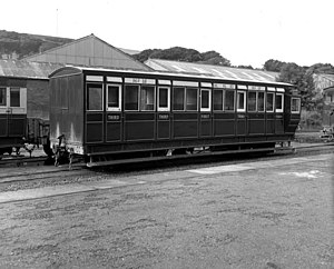 Manx Northern Railway - The Foxdale Coach