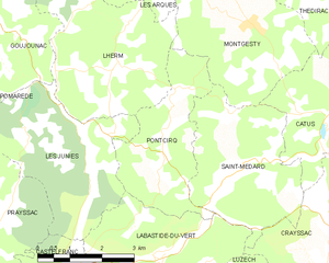 Map commune FR insee code 46223.png