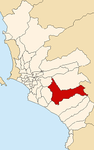 Map of Lima highlighting Pachacamac.PNG
