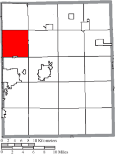 Location of Streetsboro in Portage County