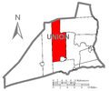 Map of Union County, Pennsylvania Highlighting West Buffalo Township.PNG