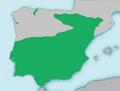 Mapa Cobitis paludica.png