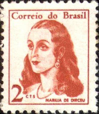 Marília de Dirceu - Marília de Dirceu on a 1967 stamp