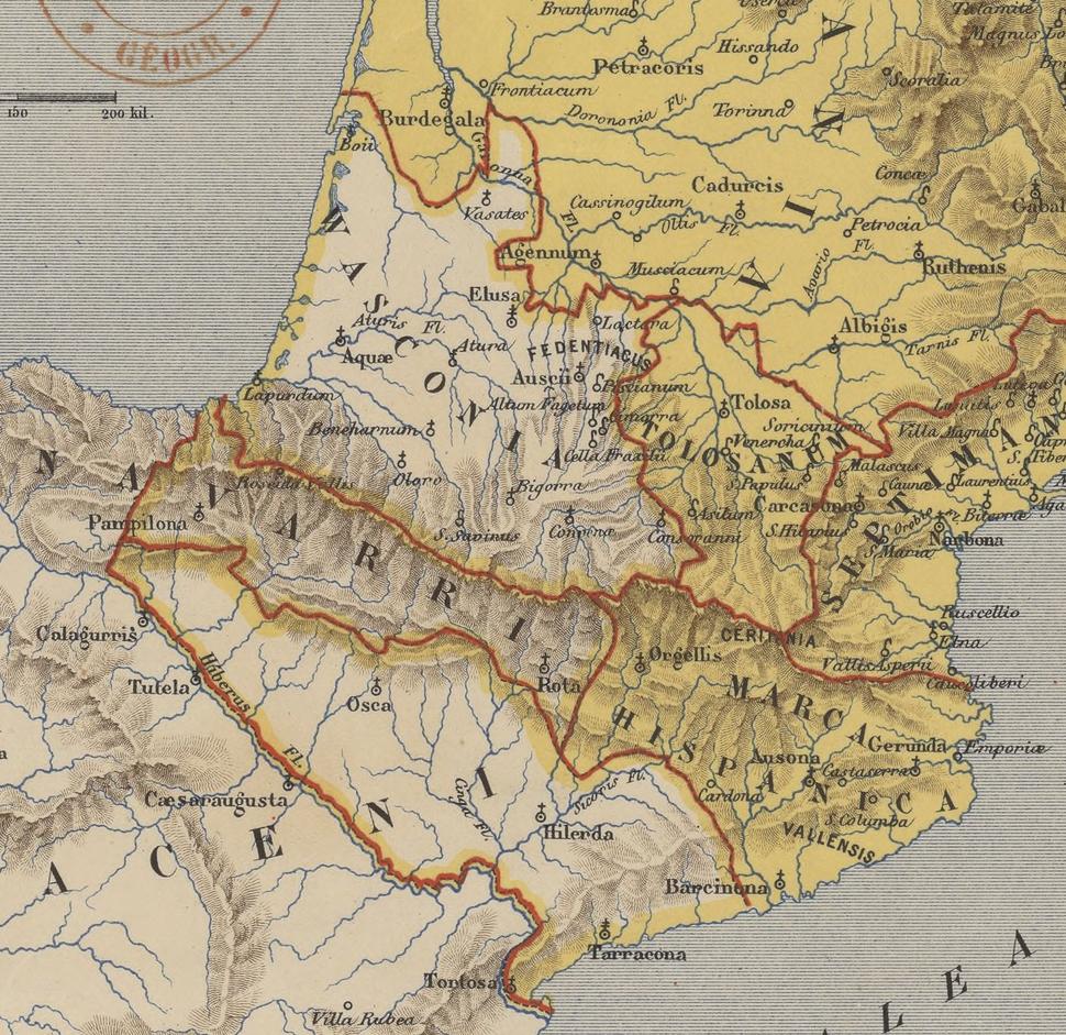 Marca Hispanica Longnon 806