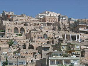 Mardin - Close-up of the old town