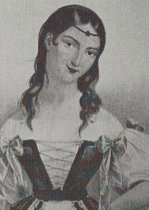 Maria Malibran as Amina - London 1833 Maria Malibran-London 1833 as Amina.jpg