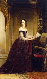 Portrait of Grand Princess Maria Nikolayevna (1819-1876)