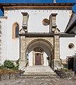 Maria Woerth Pfarrkirche hll Primus und Felician romanisches S-Portal 06112015 8686.jpg