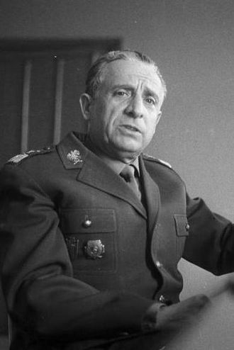 """Medal """"For the Capture of Berlin"""" - Marshal of Poland Marian Spychalski, a recipient of the Medal """"For the Capture of Berlin"""""""