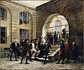 Marie-Antoinette sortant de la Conciergerie, le 16 octobre 1793.jpg