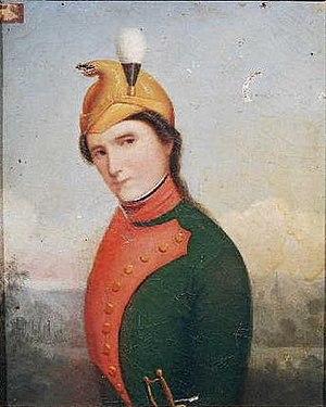 Marie-Thérèse Figueur - Thérèse Figueur, in her dragoons uniform