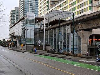 Marine Drive station Metro Vancouver SkyTrain station