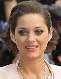 Photo of Marion Cotillard at the Paris premiere of 'Public Enemies in 2009.
