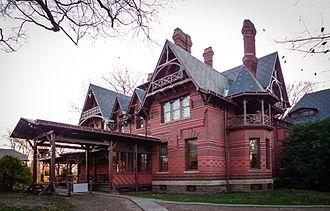 Edward Tuckerman Potter - Mark Twain House, Hartford, Connecticut