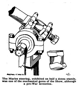 Marles steering gear - published in The Auto Motor Journal, 4 December 1919