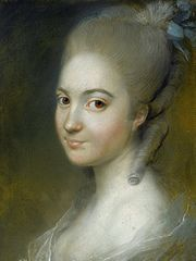 Portrait of Aleksandra Pernett.