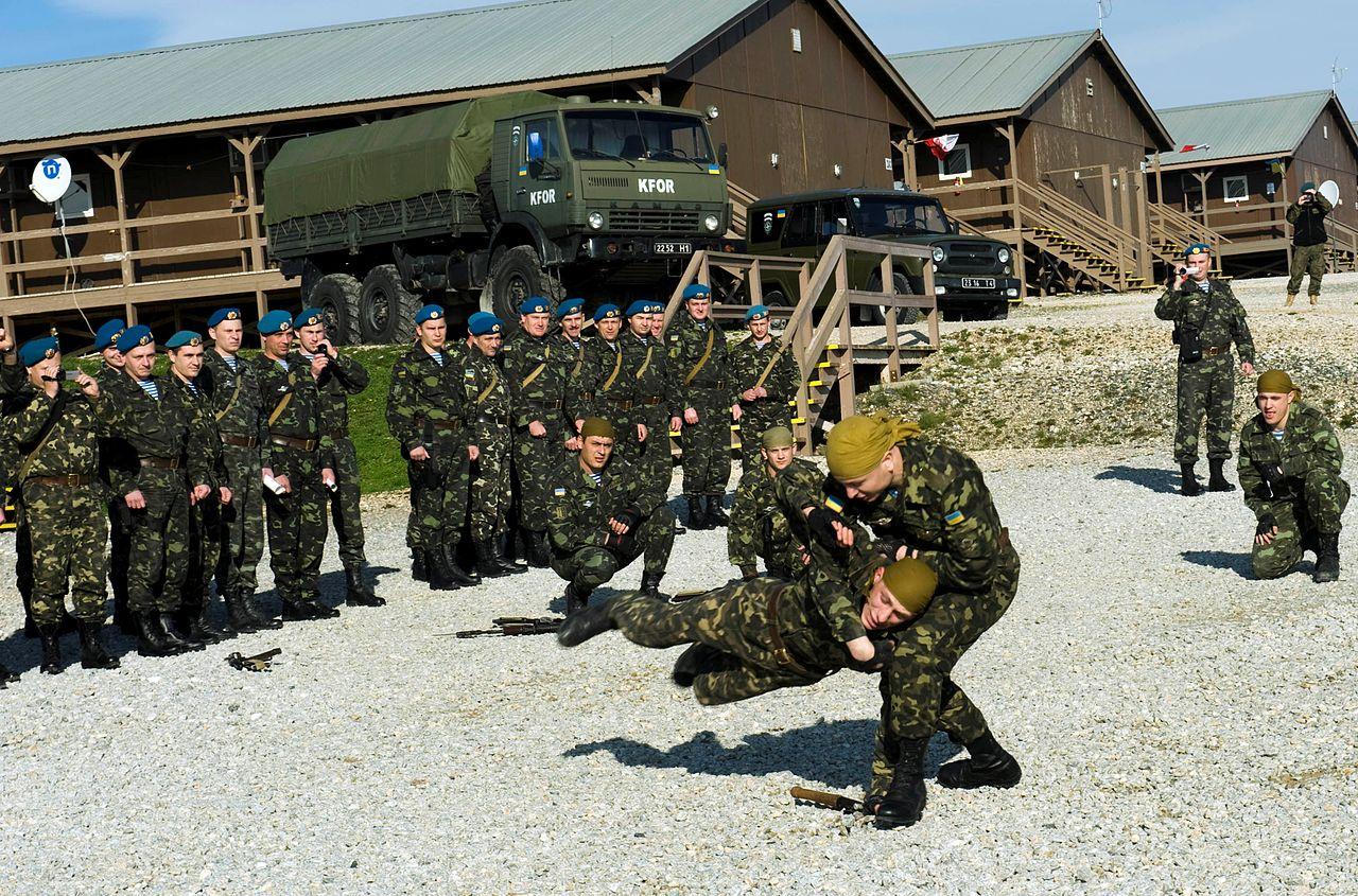 Ukrainian Army Patch Airborne Forces Specnaz 1st Division Parachute