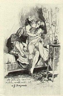 Наказание лесбиянки в древности
