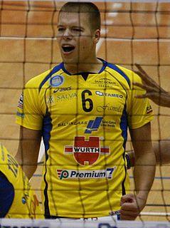 Martti Juhkami Estonian volleyball player