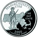 Massachusetts quarter, reverse side, 2000.jpg