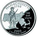 Massachusetts quarter, reverse side, 2000.jpg
