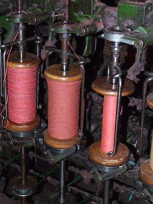 Doubling (textiles) - Image: Masson Mills WTM 6 Doubling 5853