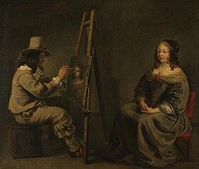 Maler und Modell (Umkreis)