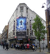matilda the musical wikipedia