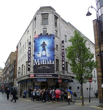 Matilda the Musical - Since 2011, Matilda the Musical is playing in the Cambridge Theatre in West End, London