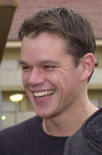 Matt Damon - Image: Matt Damon at Incirlik