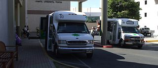 Paratransit transportation service for people with disabilities
