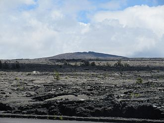 Chain of Craters Road - Austere environment surrounding the Mauna Ulu cinder cone.