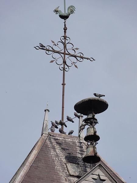 Mauregny-en-Haye (Aisne) église cloches