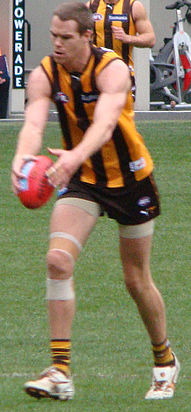 Max Bailey's first goal in AFL vs Port 2011 (6044912889) (cropped).jpg