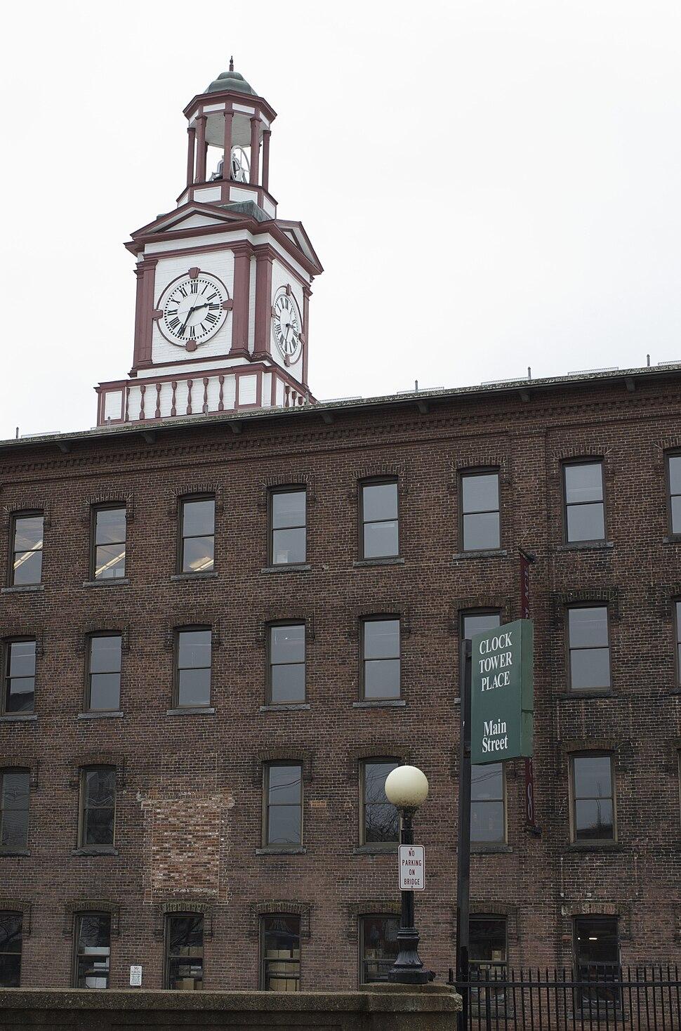 Maynard MA Clock Tower Place