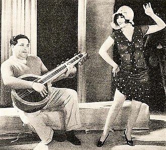 Archie Mayo - Archie Mayo and Ann Pennington, from a 1929 magazine
