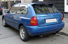 Mazda 323 rear 20080222.jpg