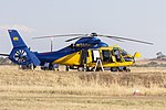 McDermott Aviation Heli-Lift Australia (N365JL) Aerospatiale AS-365N-2 Dauphin 2 at Wagga Wagga Airport.jpg
