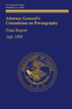 The cover of the Meese Report