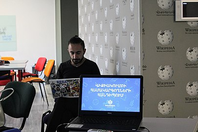 Meeting of AGBU WikiClubs coordinators, 15-16 June 2018, Wikimedia Armenia 02.jpg