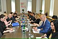 Meeting of Co-chairmans of Russian-Slovenian Intergovernmental Commission for Trade-Economic and Scientific-Technical Cooperation 2015 02.jpg
