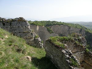 Alexius Slav - Alexius Slav's fortress near Melnik