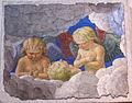 Melozzo da forlì, cherubini, 1480 ca., da ss. apostoli, 02.JPG