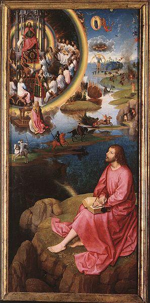 MEMLING, Hans St John Altarpiece (St. John the Evangelist) 1474-79