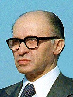 Menachem Begin Israeli politician and Prime Minister